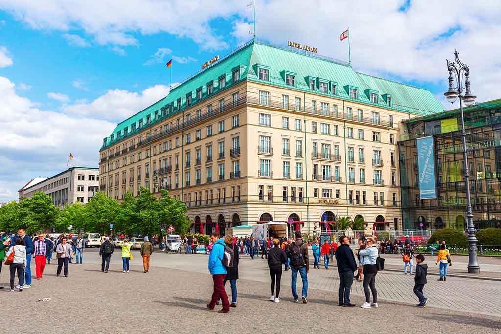 Hotel Adlon Kempinski, Untern den Linden, Berlin