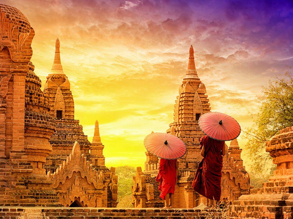 Myanmars Tempel sind die Highlights für alle Reisenden