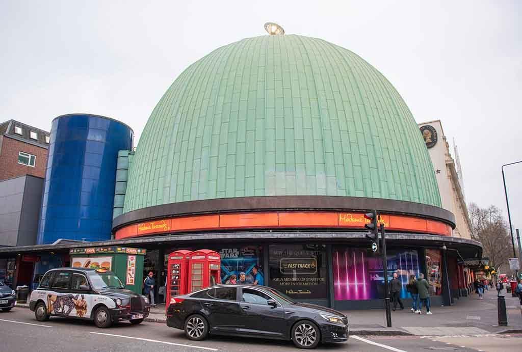 Madame Tussauds ist das Wachsfiguren Museum in London