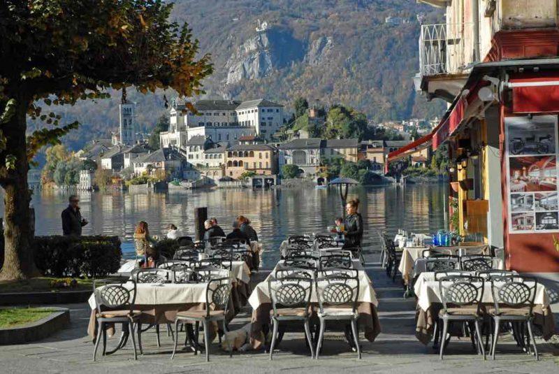 San Giulio Orta, Lake Orta, Italy