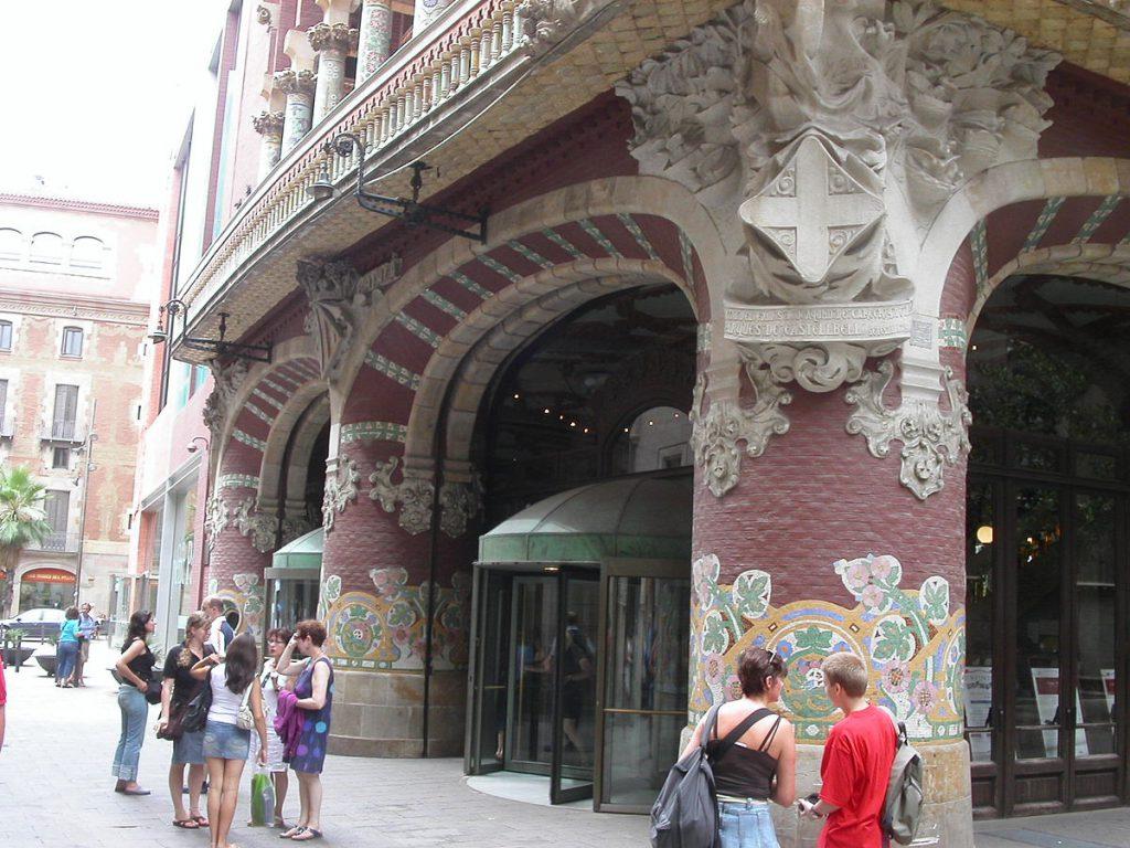 Palacio del Flamenco, Palau de la Música Catalana in Barcelona