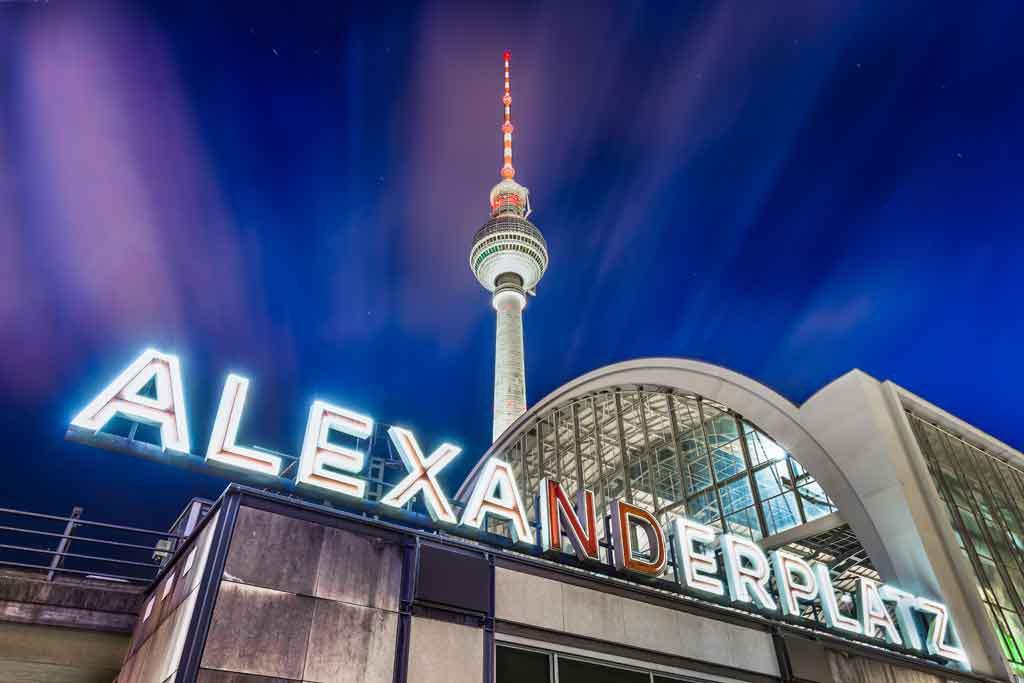 Der Alexanderplatz ist der berühmteste Platz in Berlin
