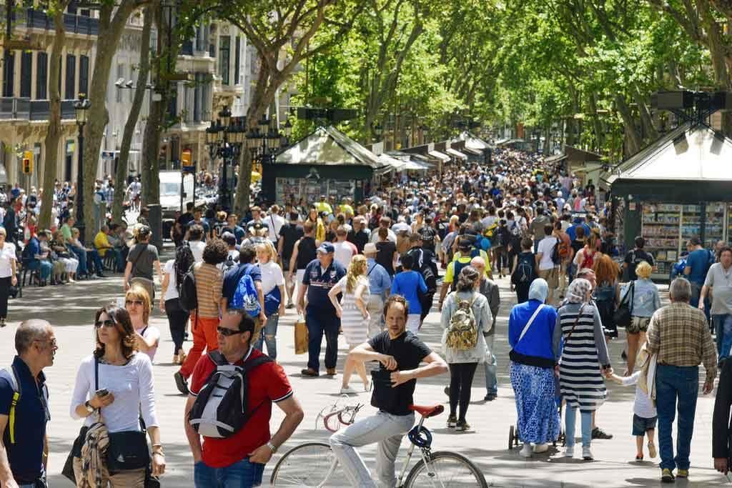 Sehenswürdikeiten in Barcelona: Las Ramblas