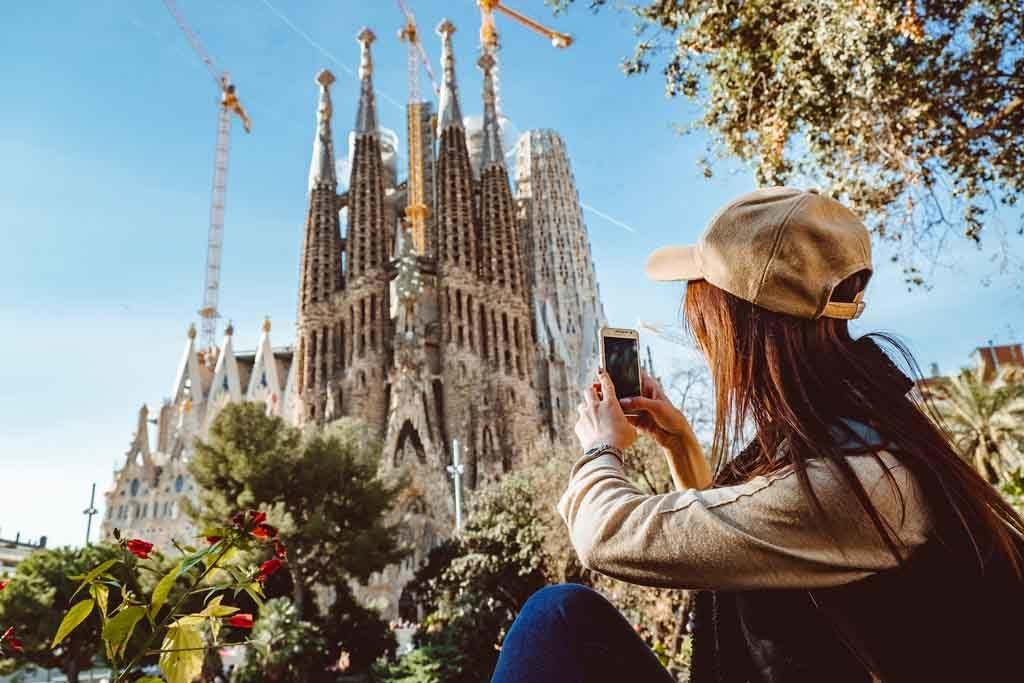 Die Sagrada Família ist eine der besten Sehenswürdigkeiten in Barcelona