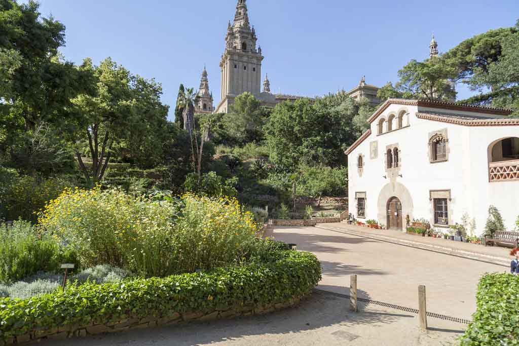 Botanische Garten, Barcelona