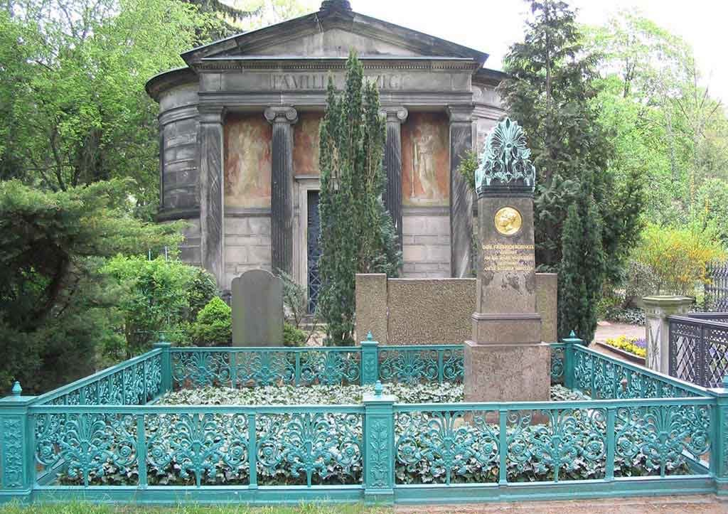 The grave of Karl Friedrich Schinkel
