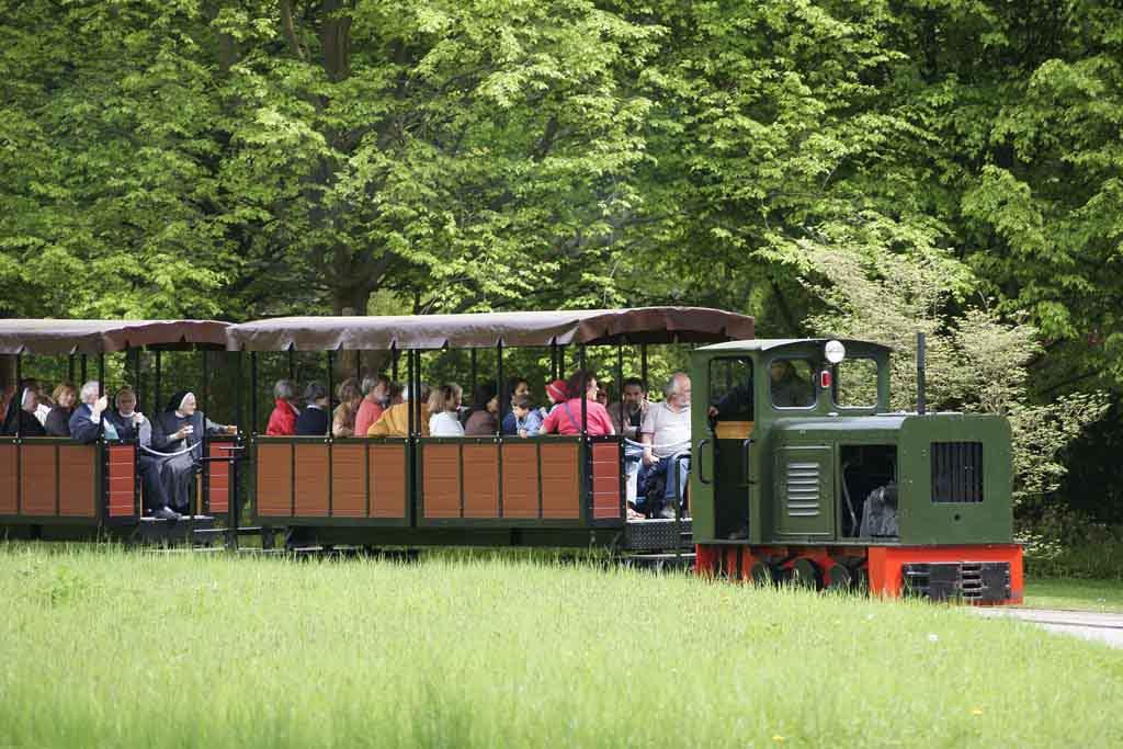 Der Britzer Garten zählt zu den schönsten Parks in Berlin