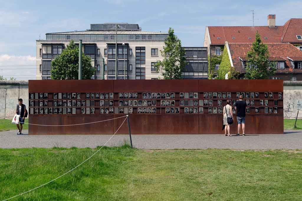 Die Gedenkstätte Berliner Mauer in Berlin
