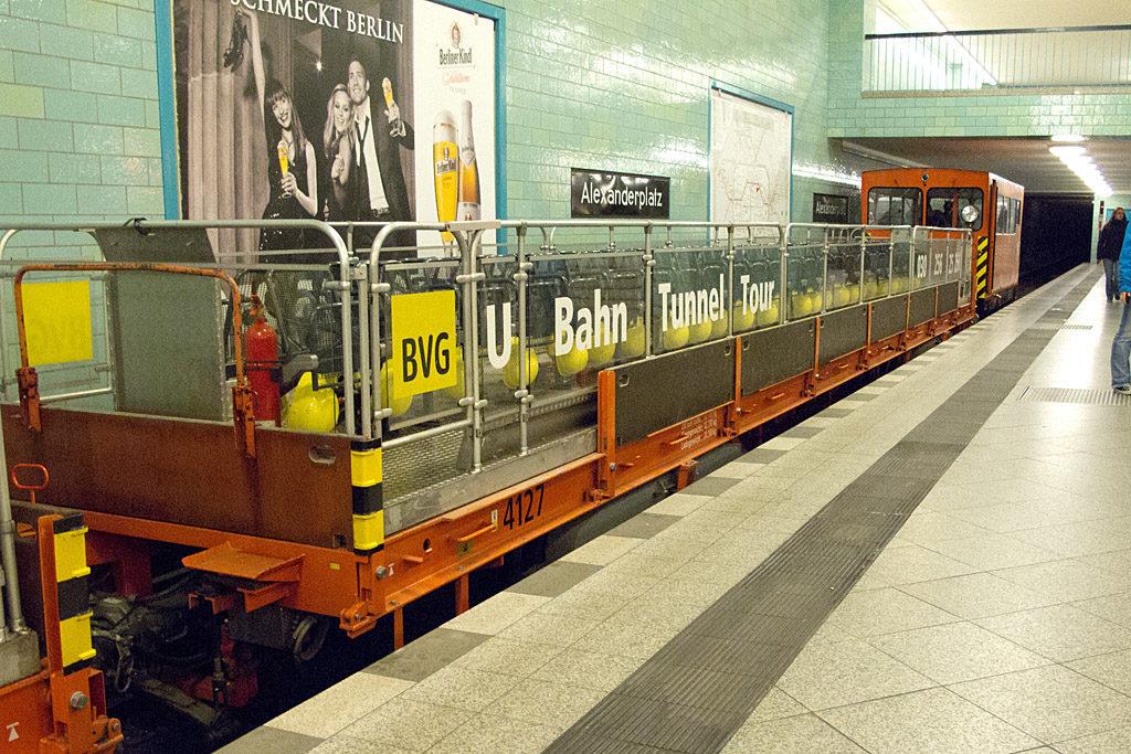 Das U-Bahn-Cabrio in Berlin