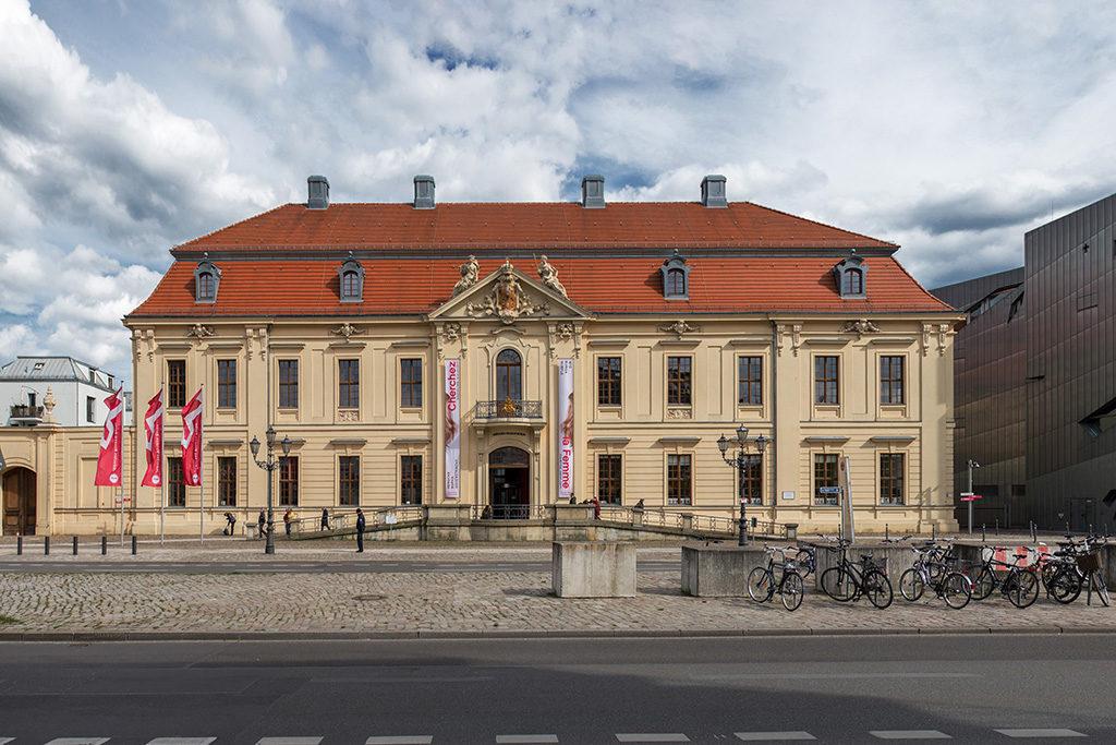 Das Jüdische Museum in Berlin Mitte