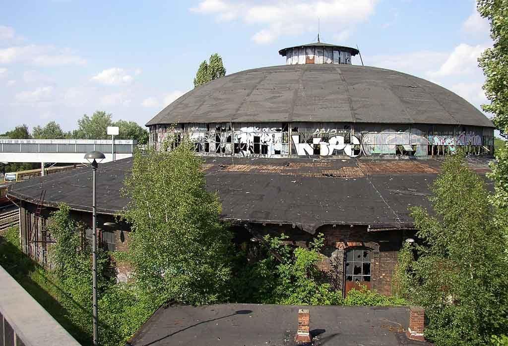 Der ehemalige Güterbahnhof in Pankow ist ein super Fotomotiv