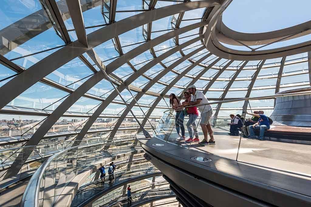 Die Kuppel des Berliner Reichstags