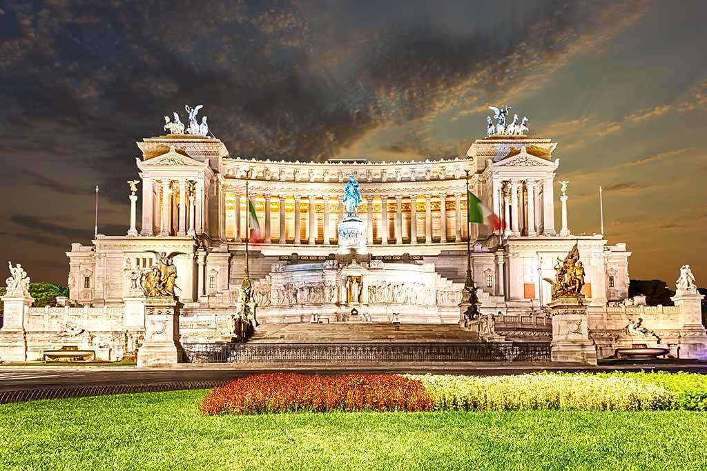 Das Denkmal für Vittorio Emanuele II