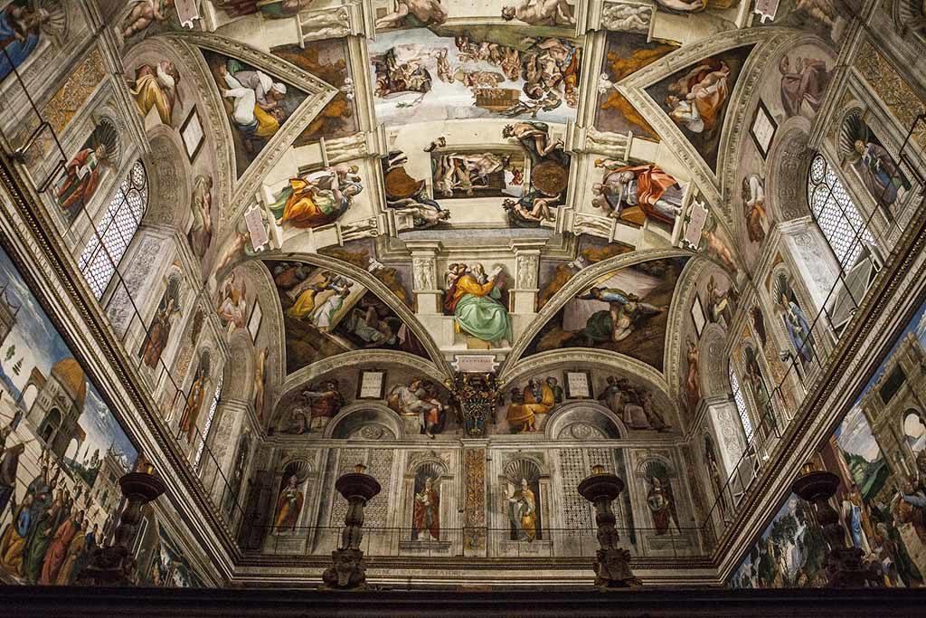 Die Sixtinische Kapelle (Cappella Sistina) ist eine der Kapellen des Apostolischen Palastes