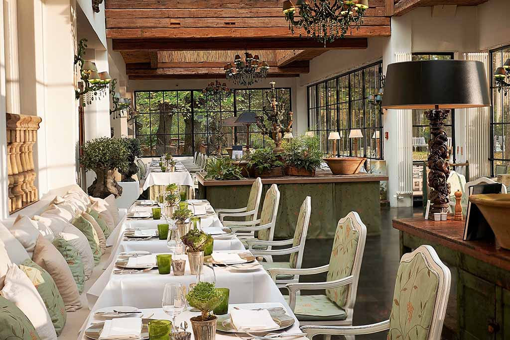 """Zur Bleiche – Restaurant """"Grünes Gewölbe"""" Foto: © Bleiche Resort & Spa"""