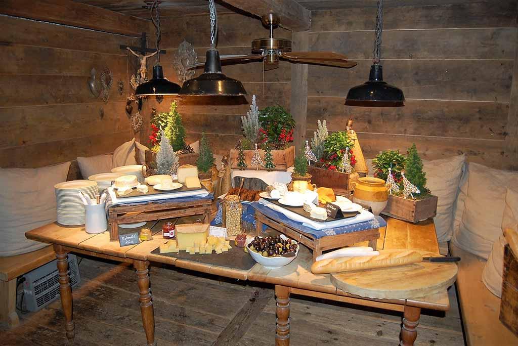Das Käsezimmer in der Bleiche   Foto: F. Moritz