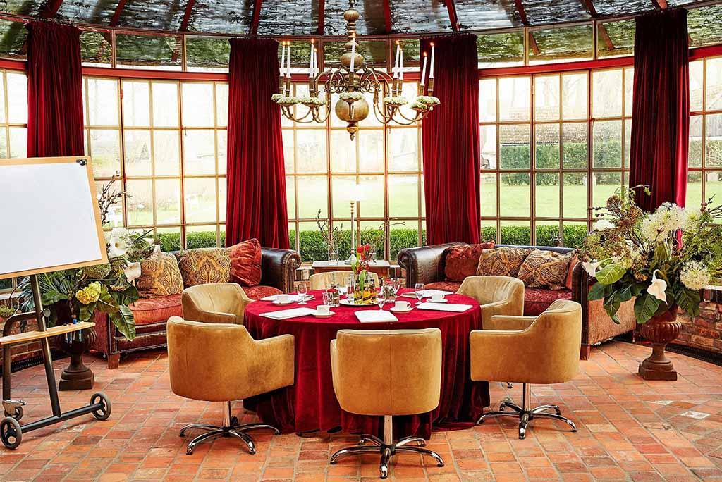 Zur Bleiche – Teepavillon als Tagungsraum  Foto: © Bleiche Resort & Spa