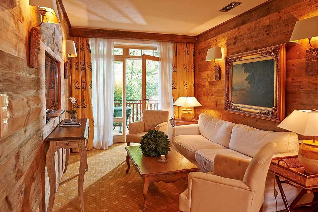 Zur Bleiche – Zimmer im Landhausstil  Foto: © Bleiche Resort & Spa