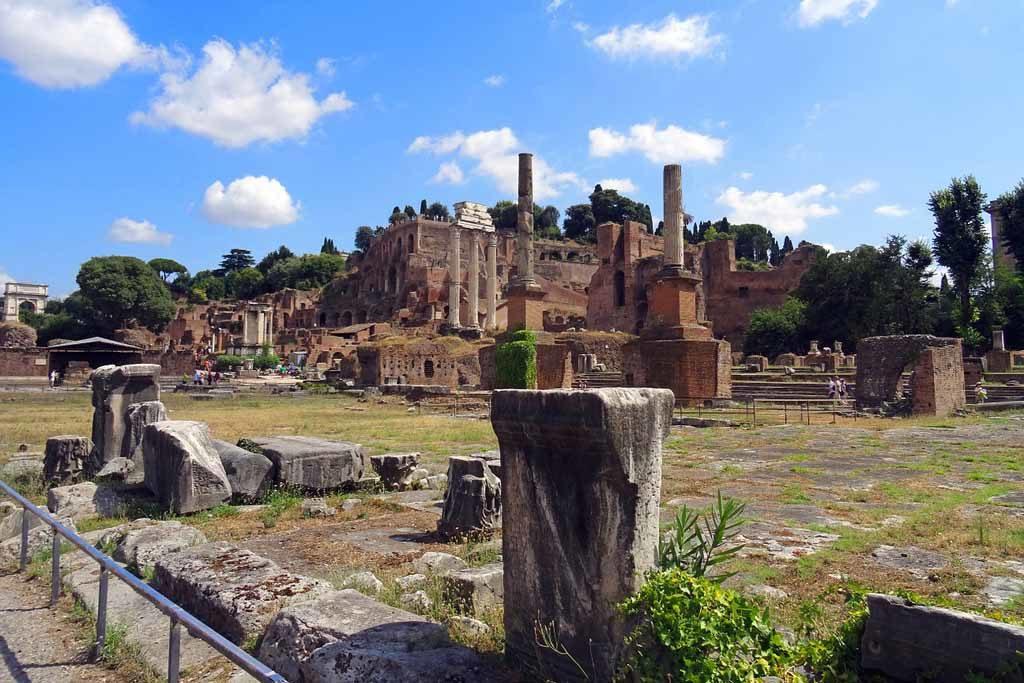 Der Palatin gilt als ältester bewohnter Teil Roms Foto: Pixabay