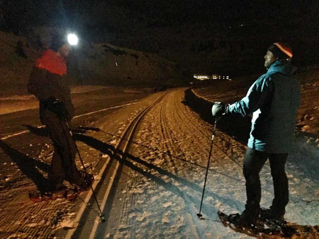 Obertauern – Schneeschuhwanderung Foto: Anika Giese