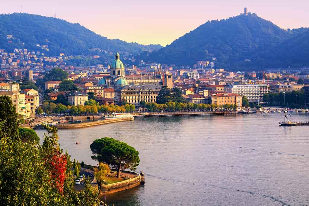 Como ist die wichtigste und größte Stadt am Comer See