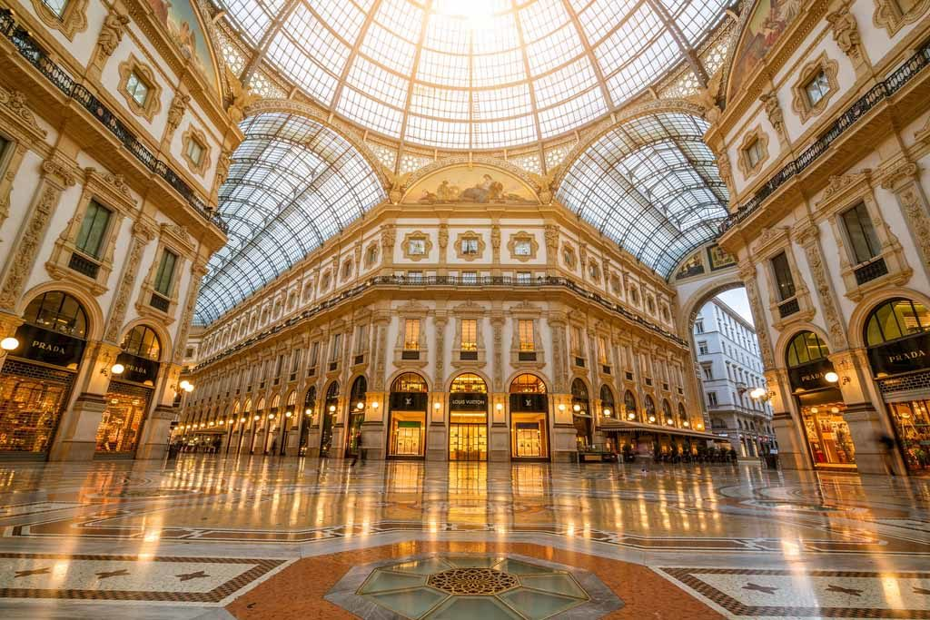 Galleria Vittorio Emanuele II. in Mailand Foto: Bigstock