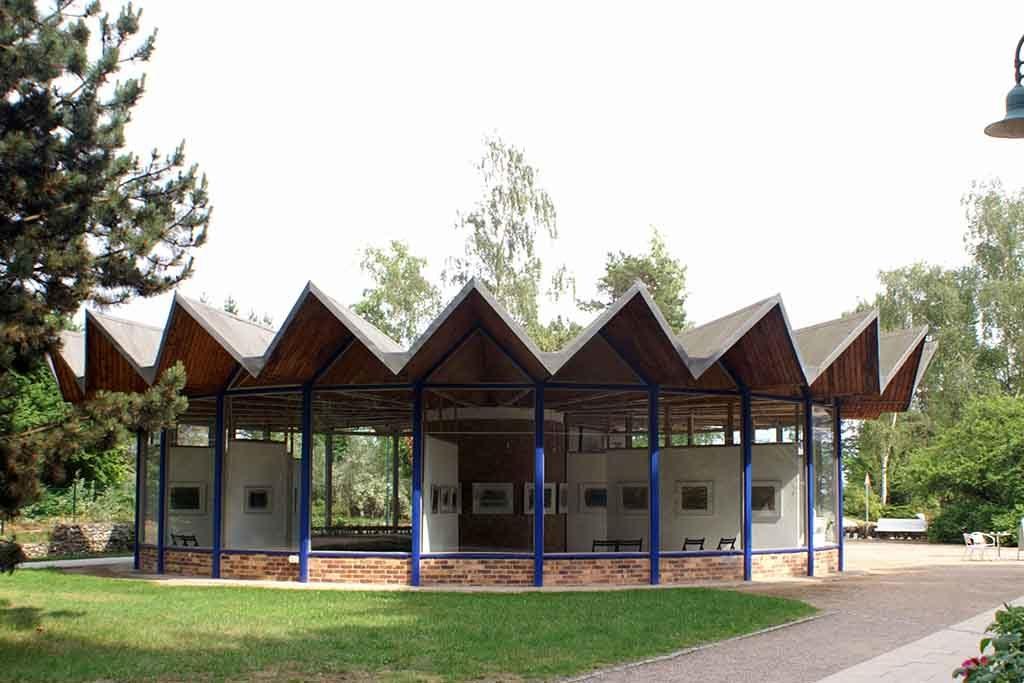 Der Kunstpavillon im Ostseebad Heringsdorf