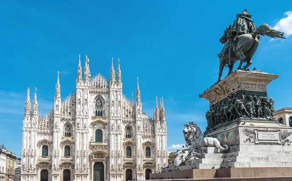Der Dom ist eine der bedeutendsten Sehenswürdigkeiten Mailand