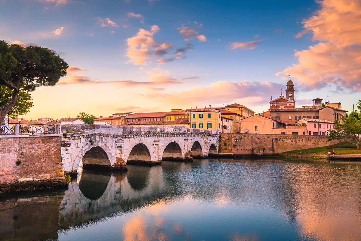 Rimini zählt zu den bekanntesten Badeorten in Italien
