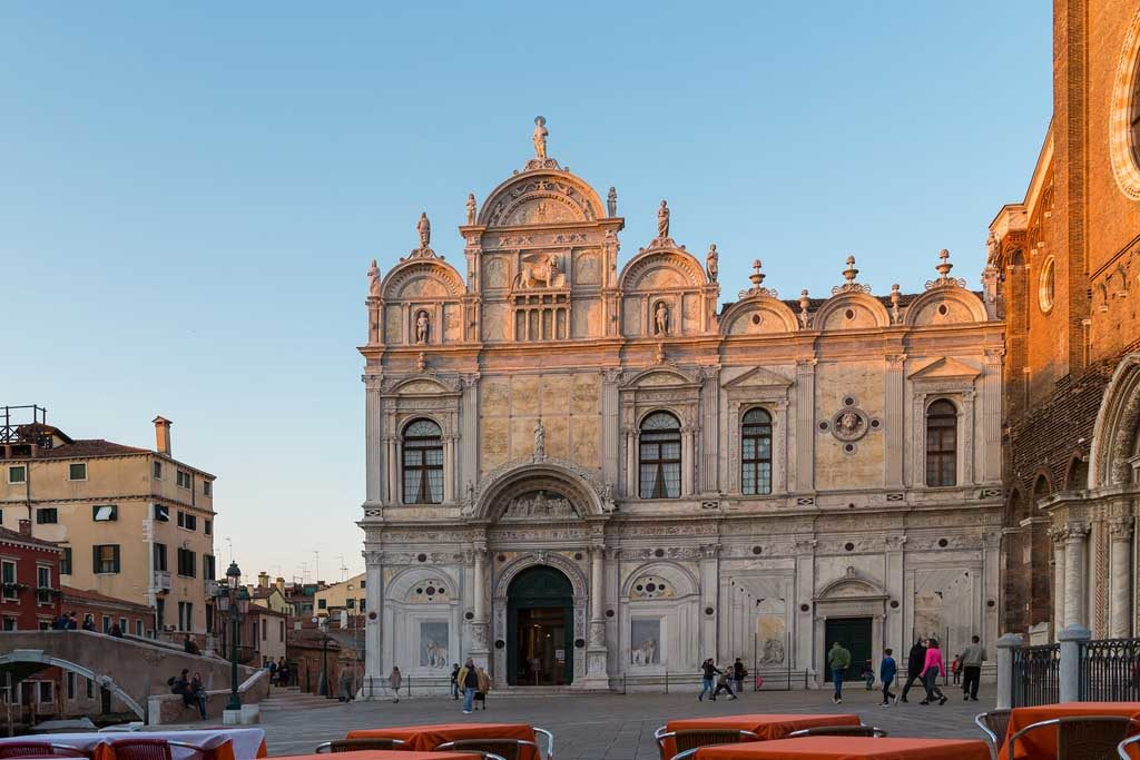 Die Scuola San Rocco, Venedig
