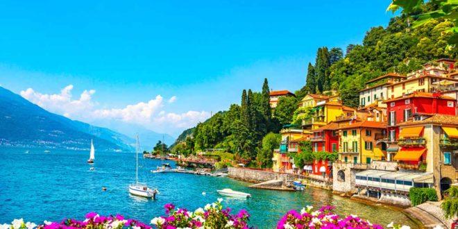 Der Comer See in Italie