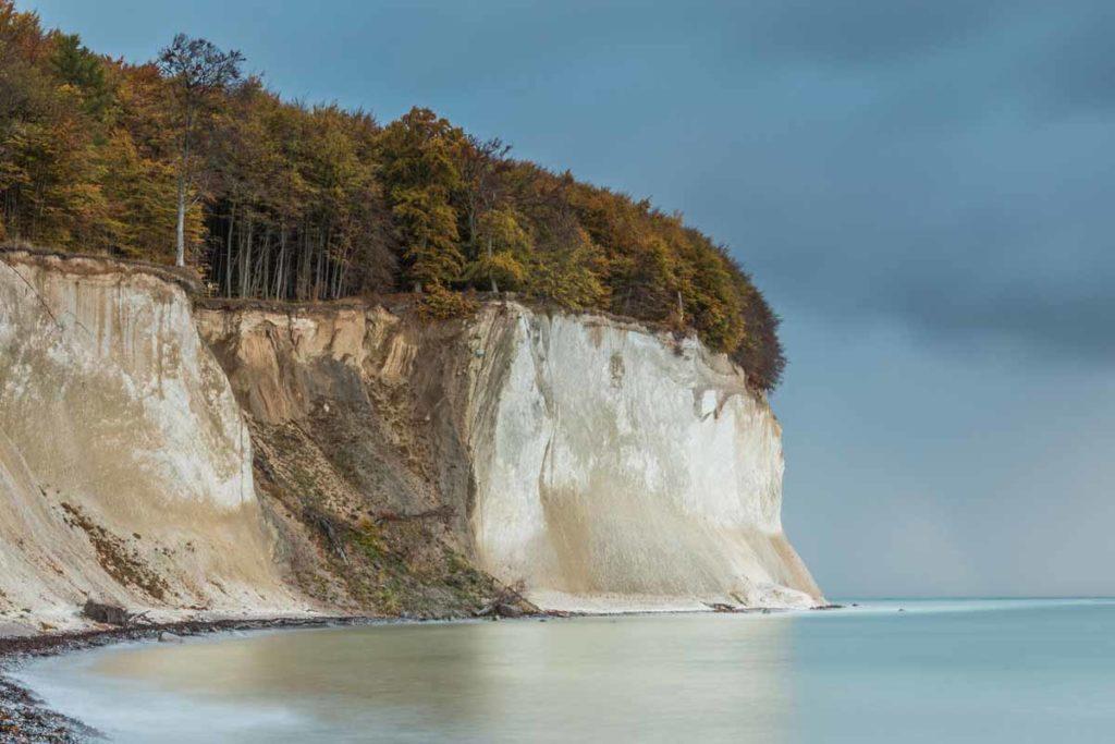 Kreideküste mit Victoria-Sicht und Königsstuhl im Jasmund Nationalpark