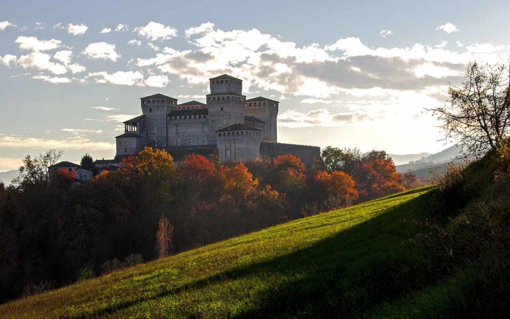 Castello di Torrechiara in Norditalien