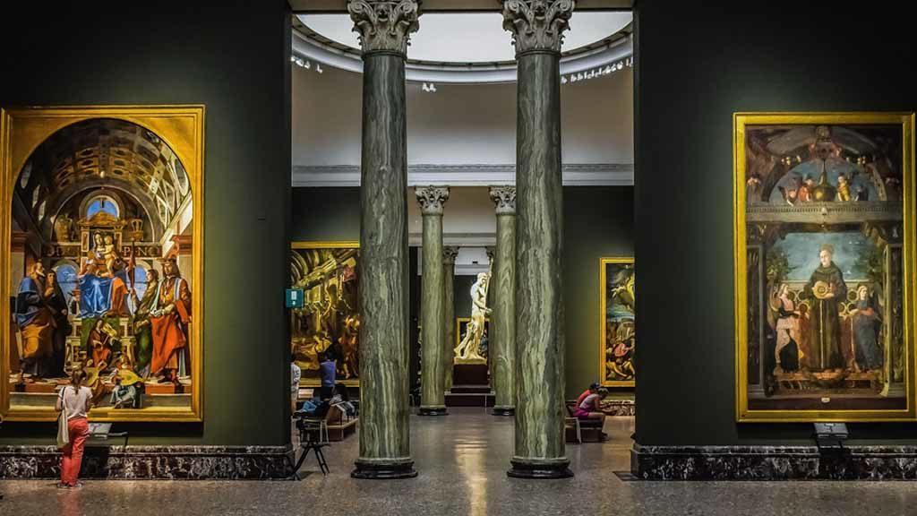 Die Galerie Pinacoteca di Brera in Mailand Foto: Pixabay