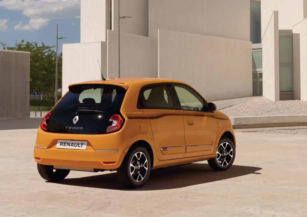 Renault Twingo: Heck mit kosmetischen Korrekturen Foto: Renault