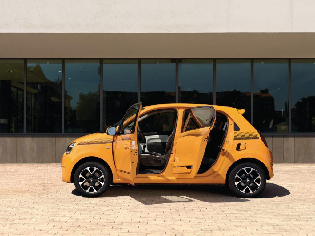 Renault Twingo als praktischer Fünftürer Foto: Renault