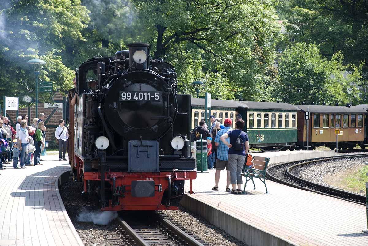 Rasender Roland, Rügen