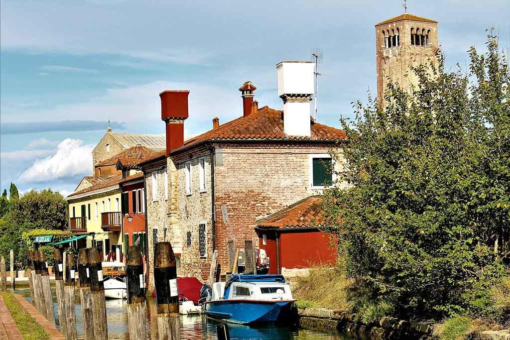 Torcello ist eine Insel in der Laguna Morta, dem nördlichen Teil der Lagune von Venedig
