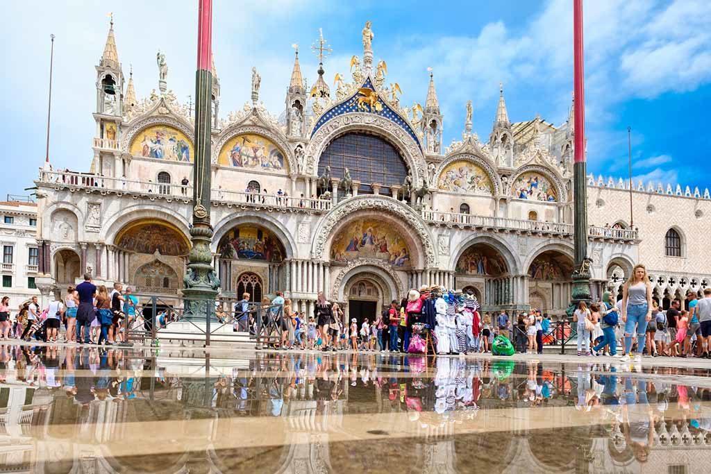 Die Basilika von Venedig
