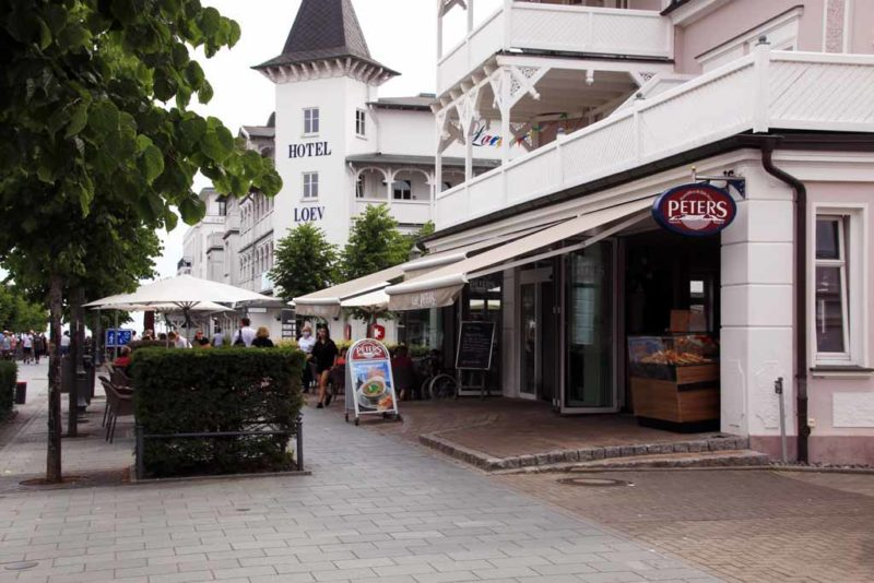 Bäckerei Peters in der Hauptstrasse