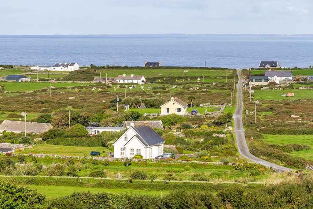 Die Aran Inseln, Irland
