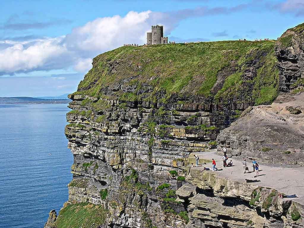 Der O'Brien's Tower an den Cliffs of Moher, Ireland