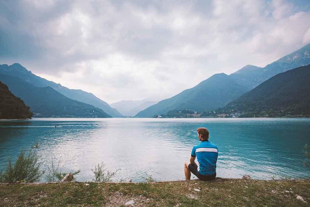 Der Ledrosee, Italien