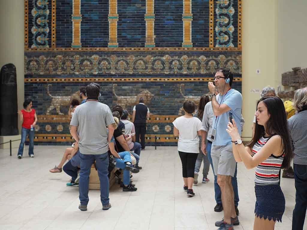 Das Pergamonmuseum auf der Museumsinsel, Berlin