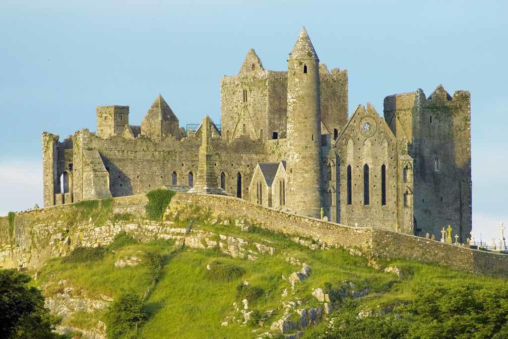 Der Rock of Cashel in Irland