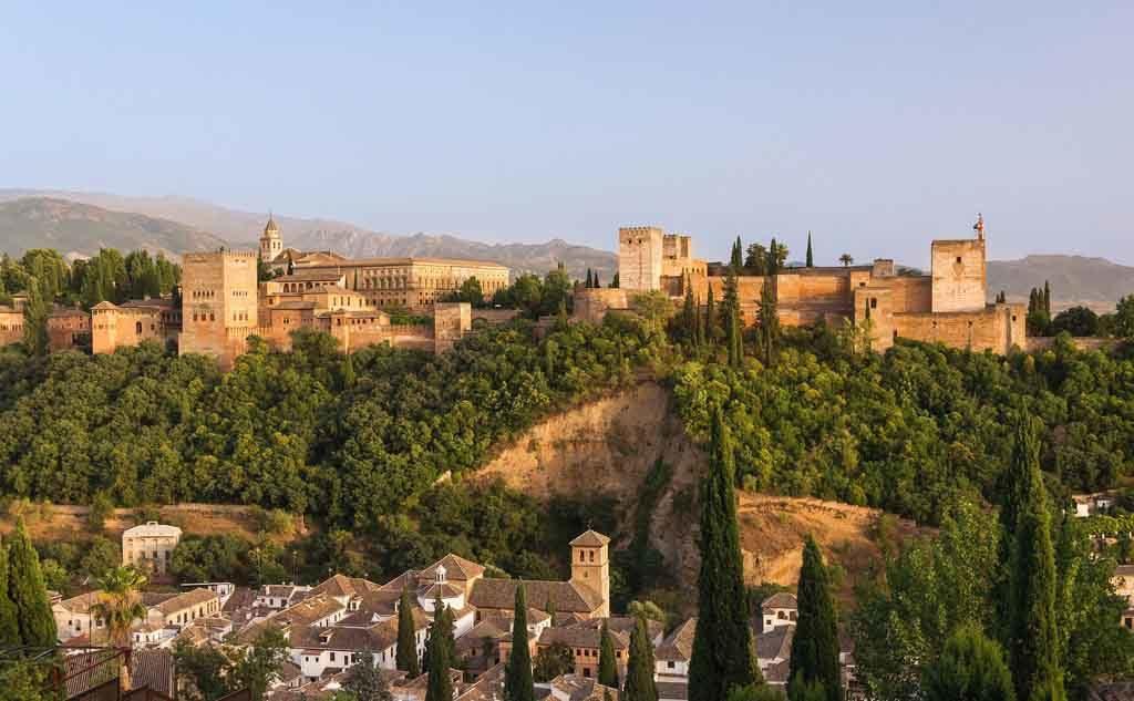 Die berühmte Alhambra in Granada