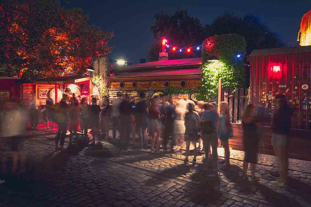 Nachtclub in Berlin