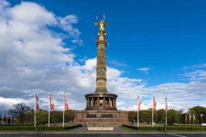 Die Siegessäule am Großen Stern in Berlin