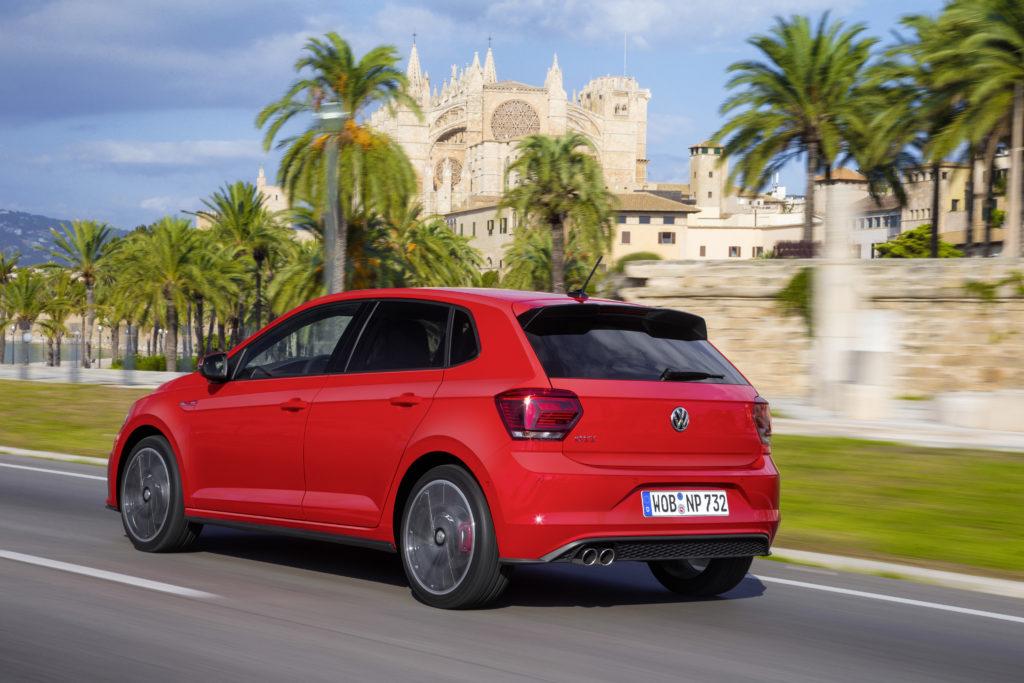 VW Polo GTI immer mit vier Türen Foto: VW
