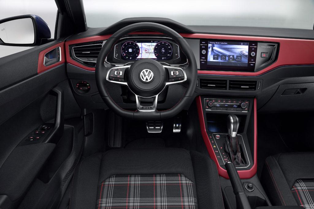 VW Polo GTI: Innenraum Foto: VW